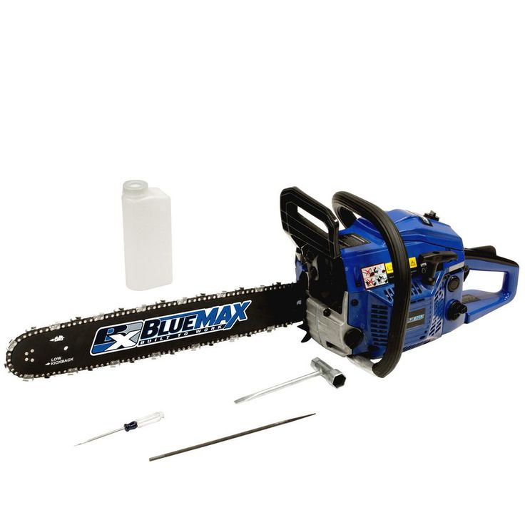 Blue max 18 in 45cc heavy duty gas chainsaw6595 the