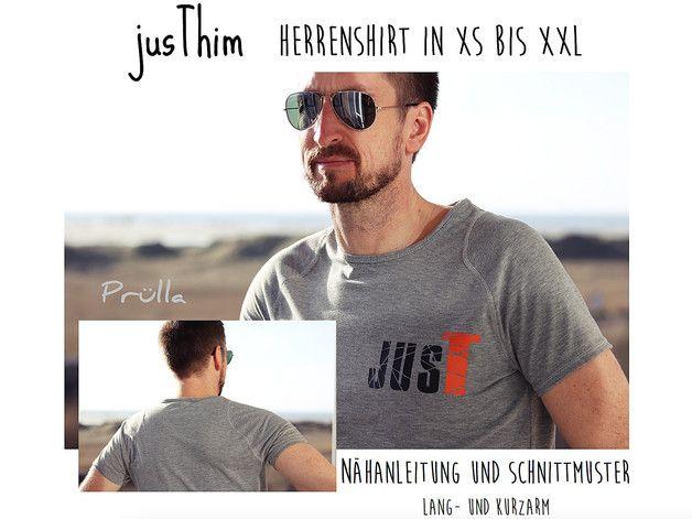 Nähanleitungen Mode - EBook jusThim - Herrenshirt in XS bis XXL - ein Designerstück von Pruella bei DaWanda