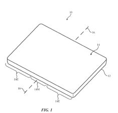 Patent filed by Apple for flexible displays. #technology