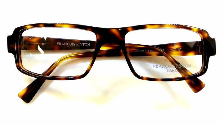"Francois Pinton ""Platinum II"" eyeglass frames"