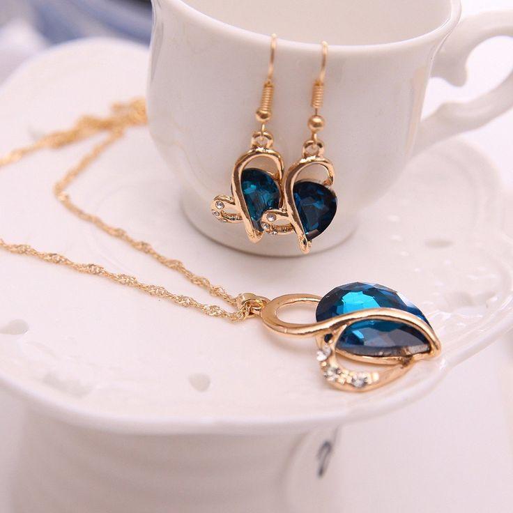 Komplet biżuterii Silvona