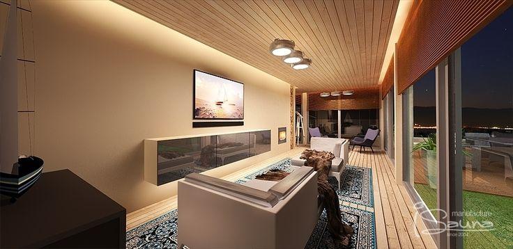 Captain's sauna wellness relax room