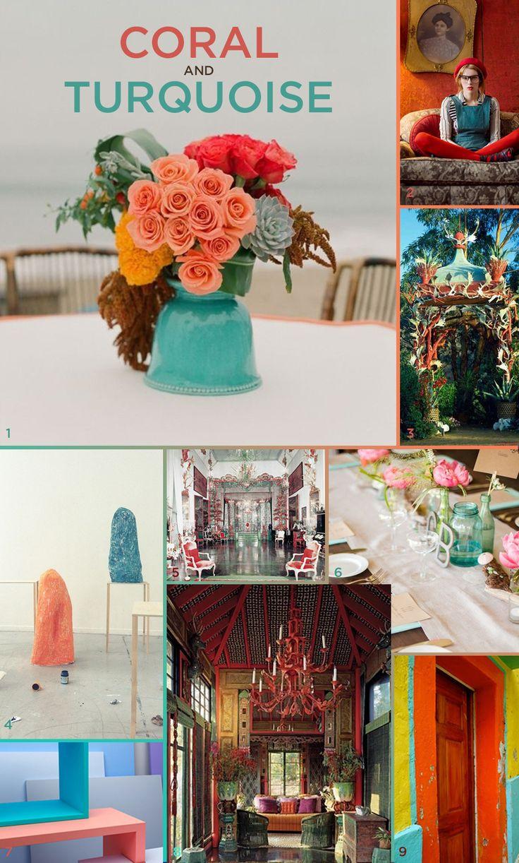 Coral Color Combinations 50 Best Color Inspiration Images On Pinterest Colors Color