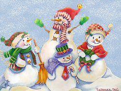 snowmen | snowmen by country mama wallpaper this cute desktop wallpaper is