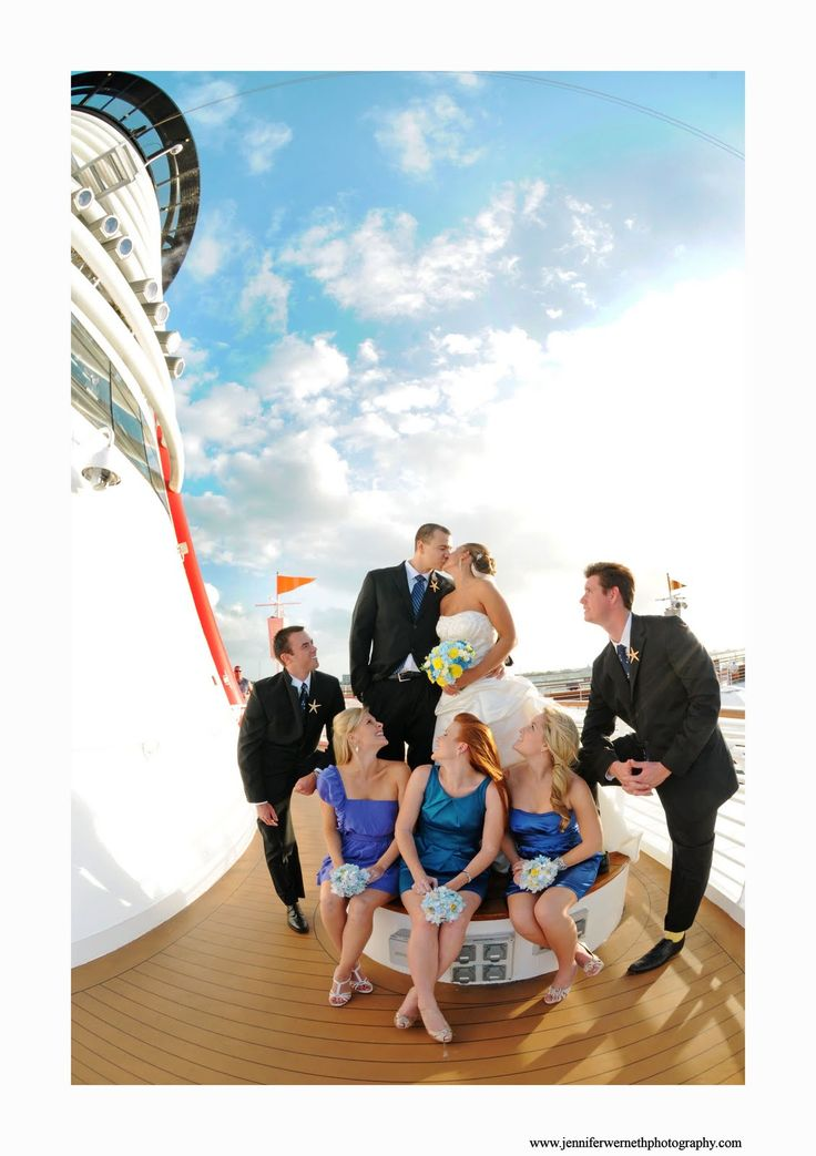 Photos from another Disney Cruise Wedding Call to book yours today!