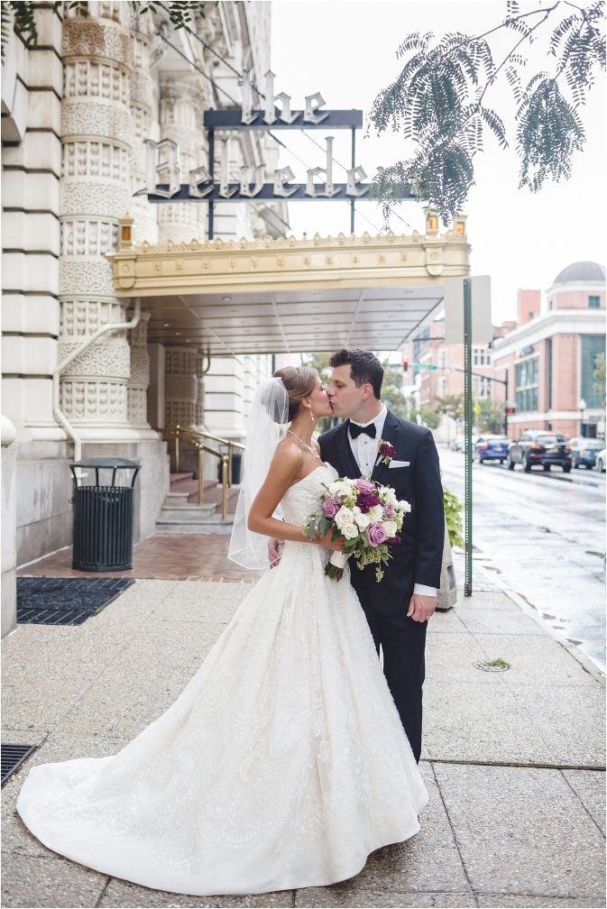 Belvedere Hotel Baltimore Wedding MD Charm City Photographer Classic Black Tie Ballroom Tara Peddicord Corpus