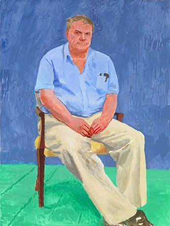82 Portraits and 1 Still Life : Paintings : Works   David Hockney