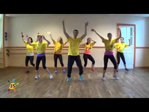 Magic in the air (Chorégraphie Flashmob Téléthon Rennes 2014) - YouTube