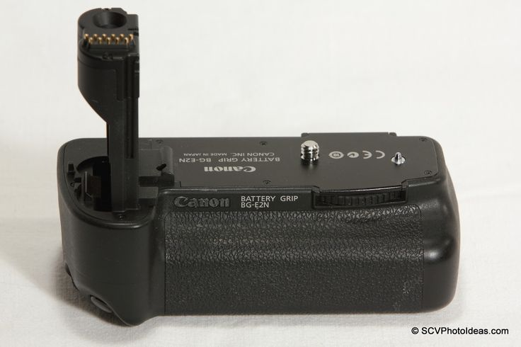 A reference page for the Canon BG-E2N Battery Grip with detailed usage illustrations. #canon #canonbge2n #batterygrip #canoneos50d #reference
