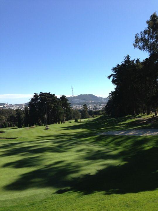 Presidio Golf Course in San Francisco, CA