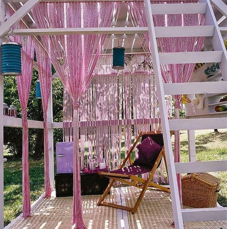 Chioșc de grădină cu etaj numai bun și ca loc de lucru în aer liber / in the garden