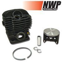 Nwp Big Bore Cylinder Assembly (54Mm) For Dolmar 7900, Makita 6401, Solo 681 by NWP. $97.49. Aftermarket piston and cylinder kit for Dolmar, Makita and Solo chainsaws. This is a big bore kit, which means the piston and cylinder have been oversized to 54 mm to give your saw more displacement. These kits include a piston, rings, wrist pin with clips and a cylinder, all for one low price. Cylinder is NiSi, and comes tapped with deco hole. This is our only kit that c...