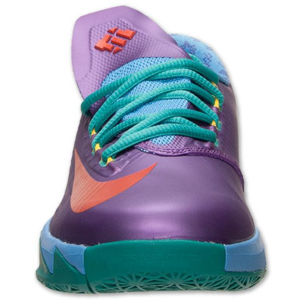 """""""Rugrats"""" Nike KD 6 GS - Detailed Images   TheShoeGame.com - Sneakers... ❤ liked on Polyvore featuring shoes, kd's, shoes., nike footwear, nike shoes and nike"""