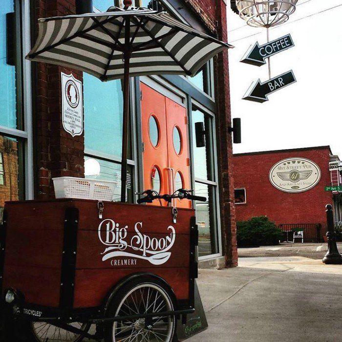 9. Doughnut Ice Cream Sammie / Big Spoon Creamery - Birmingham, AL