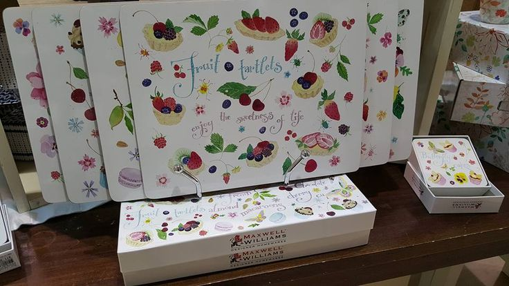 New Placemats from Maxwell & Williams now in store! #Maxwell & Williams #Placemats #Sweet Treats #New