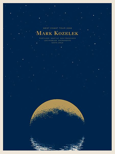GigPosters.com - Mark Kozelek - The Small Stakes