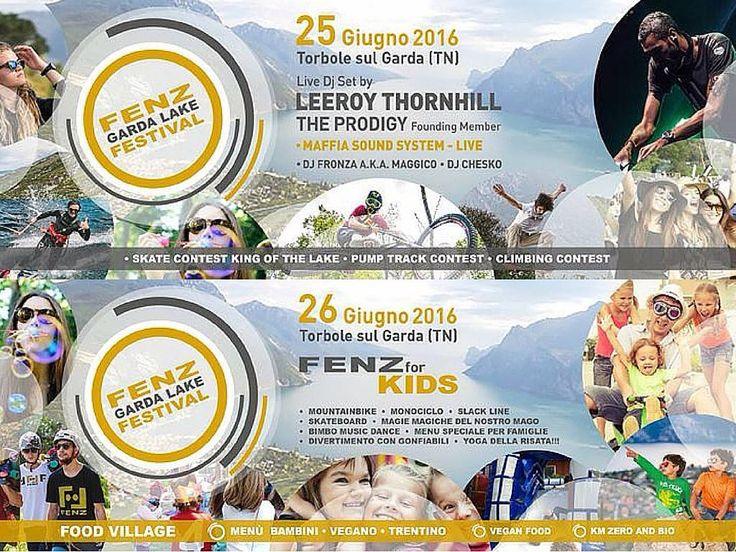 #sport #danza #laboratori e tanto divertimento per bambini al #fenzgardalakefestival
