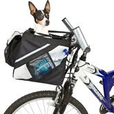 Black and Gray Dog Bike Carrier   DiscountRamps.com