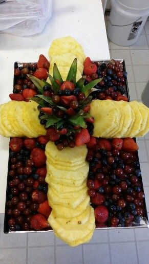 Creation for first communion party.
