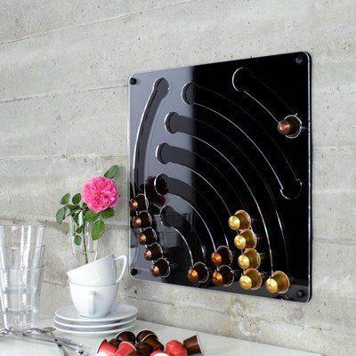 die besten 25 nespresso kapselhalter ideen auf pinterest. Black Bedroom Furniture Sets. Home Design Ideas