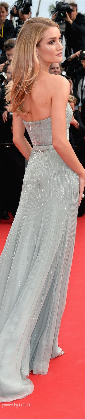 Rosie Huntington Whiteley in Gucci...2014 Cannes Film Festival