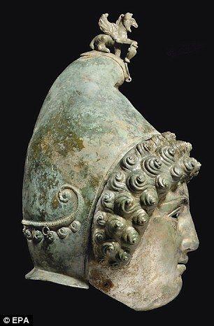 Enigmatico: El casco Habria Sido USADO COMO Una marca de excelencia Por los soldados romanos en la caballería Desfiles deportivos