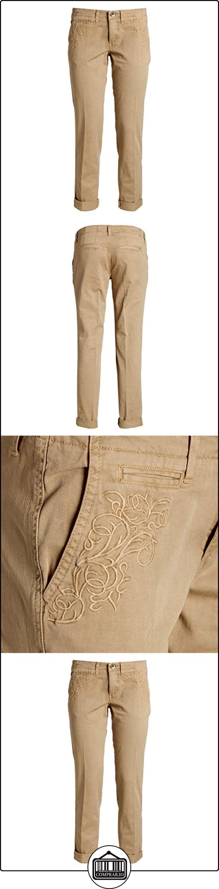 Guess Berta Chino, Pantalones para Mujer, Beige, W25  ✿ Vaqueros ✿