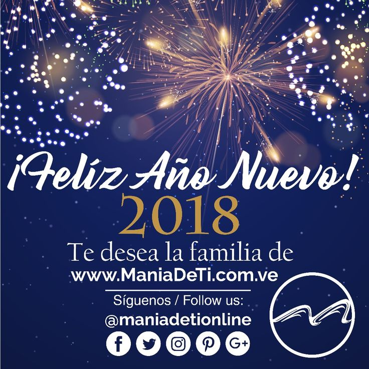 Muchas gracias por confiar, seguir, compartir y formar parte de esta familia que crece cada día #FelizAño2018 les desea #ManiadeTi !!! #ManiadeTiVzla #TrajedeBaño #Bikini #Vacaciones #FindeSemana #Playa #Piscina #Sol #Diversión #Verano #DiseñoVenezolano #YoUsoDiseñoVenezolano #HechoEnVenezuela #TiendaOnline #Fashion #Elegancia #Chic #AñoNuevo #Musica #Relajacion