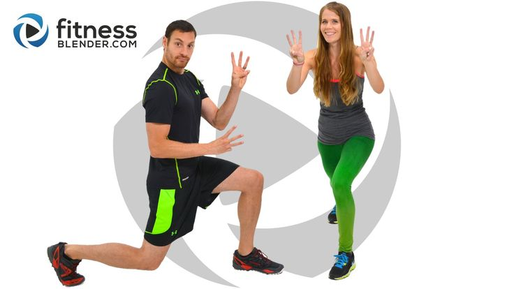 Day 3: Free 5 Day Workout Challenge for Busy People / Fat Burning HIIT C...