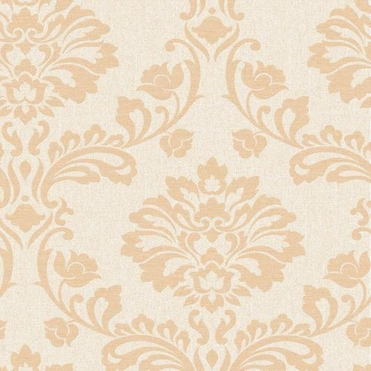 Aurora Wallpaper in Cream and Sand from the Midas Collection by Graham & Brown