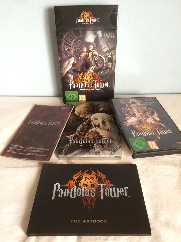 Pandora's Tower Limited Edition all content.
