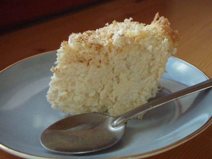 Kokosový dortík z fazolí | Táňčina nízkoglykemická kuchařka