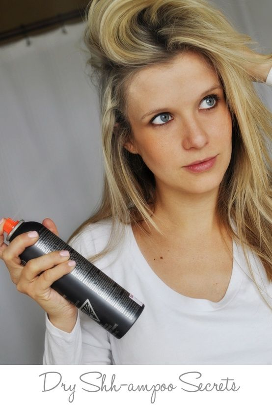how to stop hair from getting greasy everyday