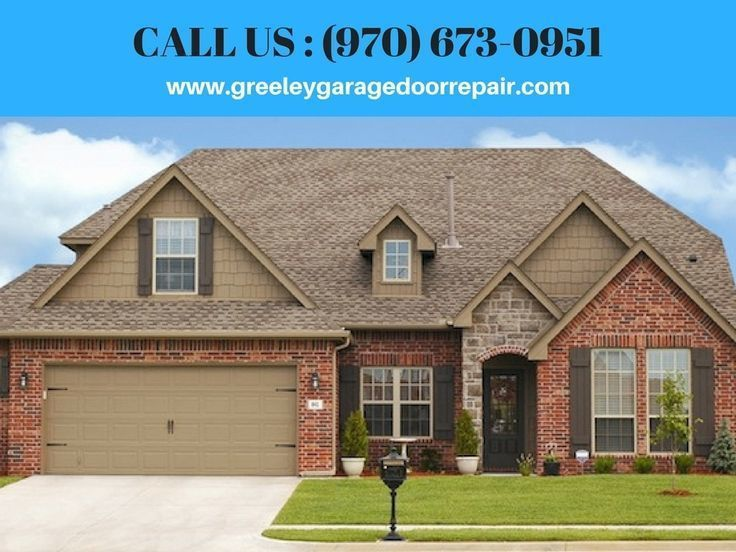 Greeley Garage Door Repair Provides Best Repair, Maintenance & Installation Services at Affordable Prices     To know more about their garage door repair service, one can CALL on :- (970) 673-0951 or Visit on visit the website: www.greeleygaragedoorrepair.com