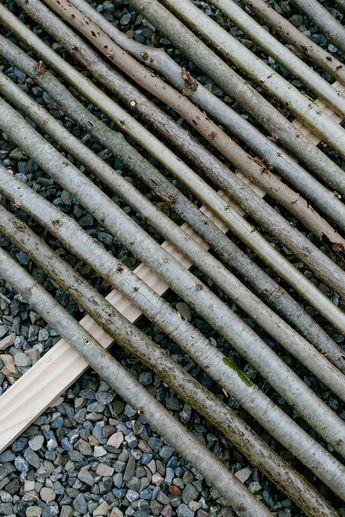 25+ Best Ideas About Sichtschutzwand Garten On Pinterest ... Pergola Gartentor Sichtschutz Gemutlichkeit