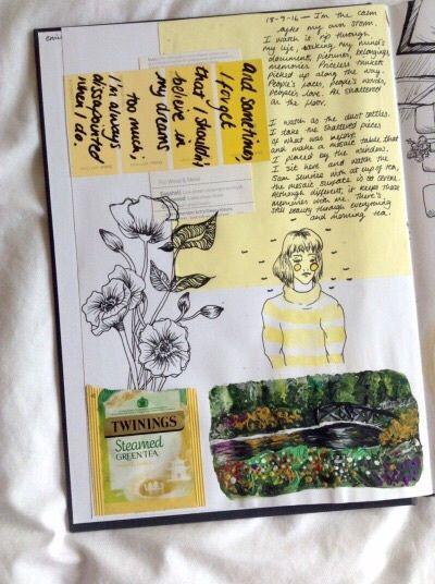 Image de diary, journal, and scrapbook