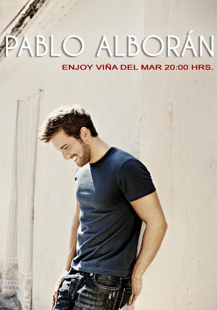 Pablo Alborán - 02 de marzo - Enjoy Viña del Mar