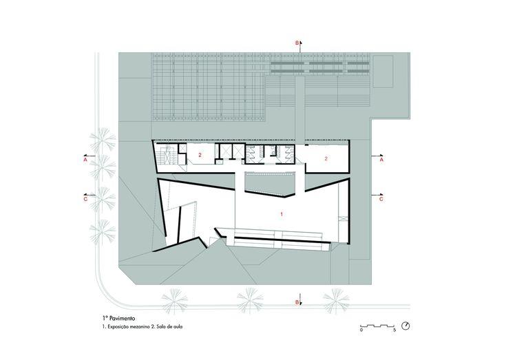 Porto Seguro Cultural Center,Plan 3
