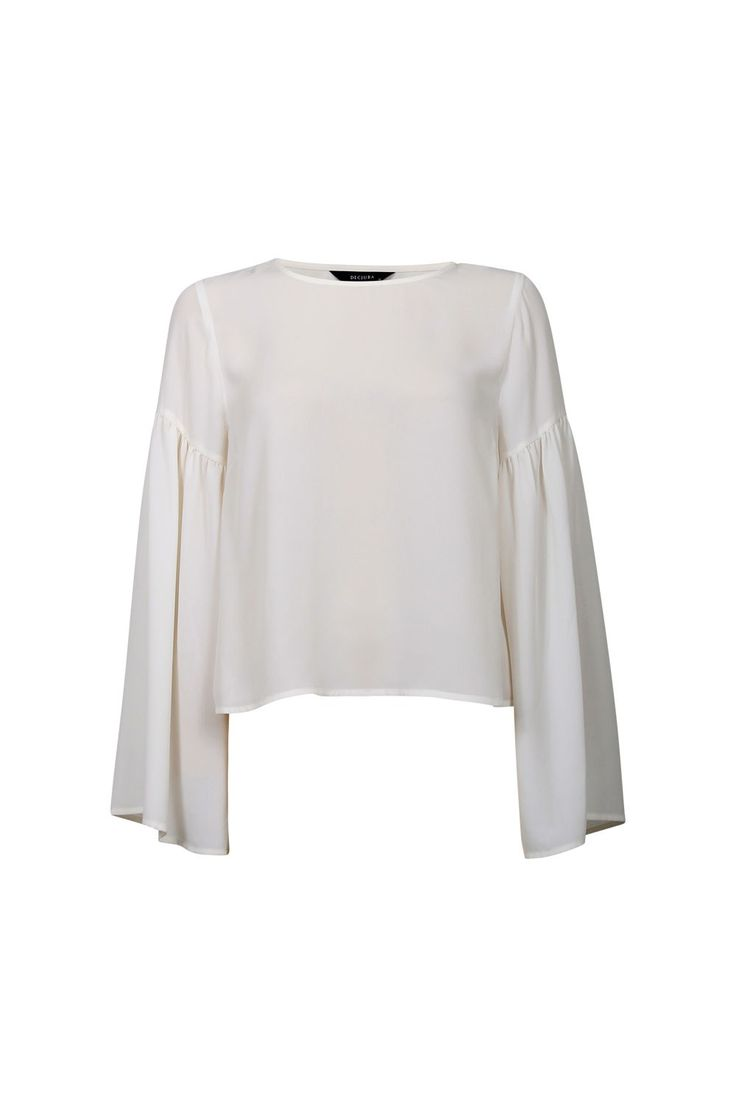 STATEMENT SLEEVE CROP TOP