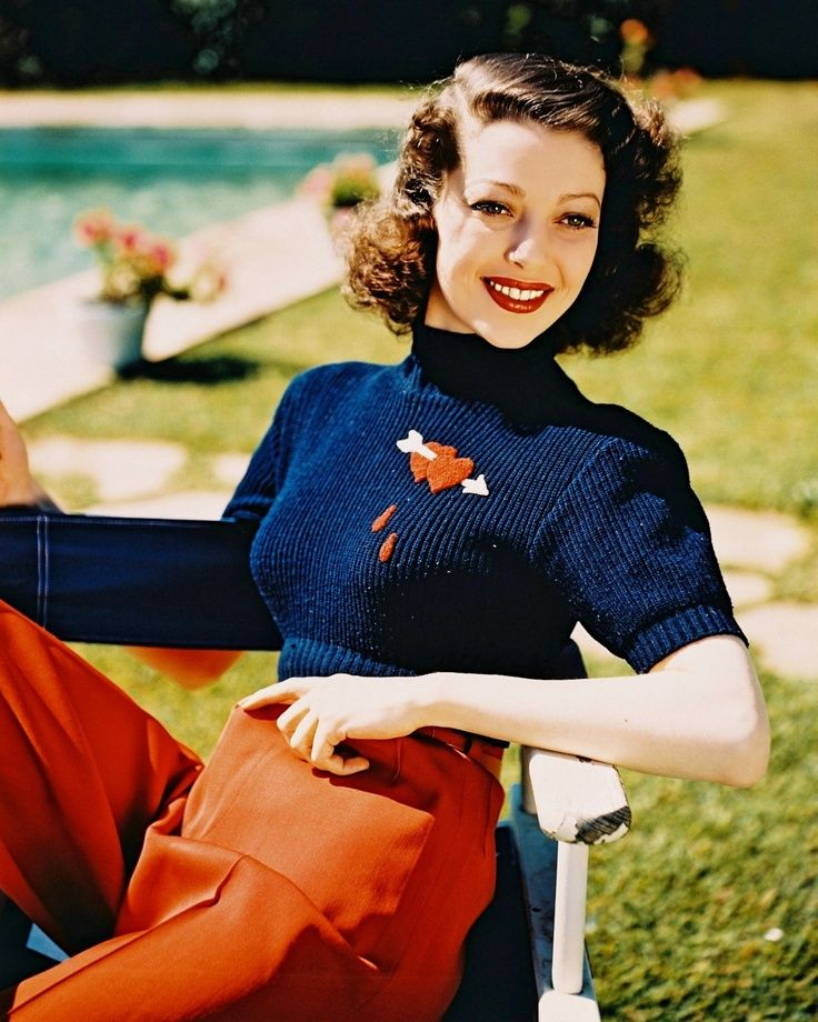 Image result for heart sweater 1940s