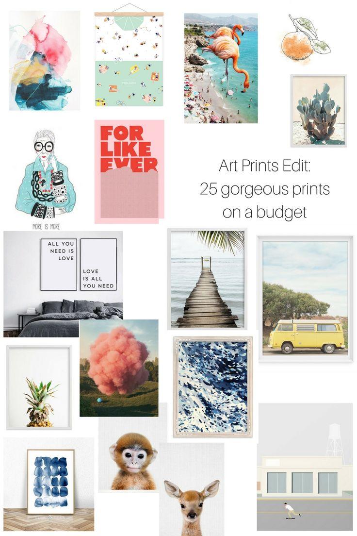 Art Edit: 25 Art Prints on a Budget - Damask