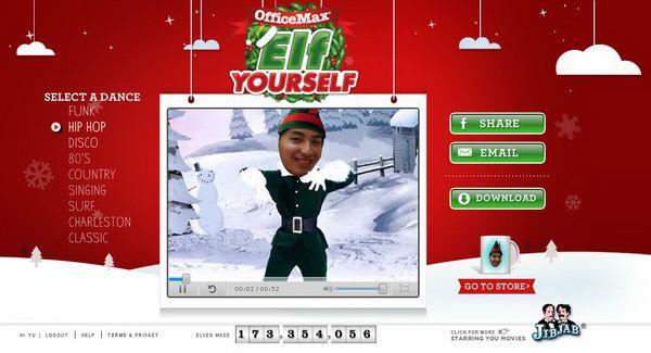 Best 25 Elf Yourself Videos Ideas On Pinterest Elf