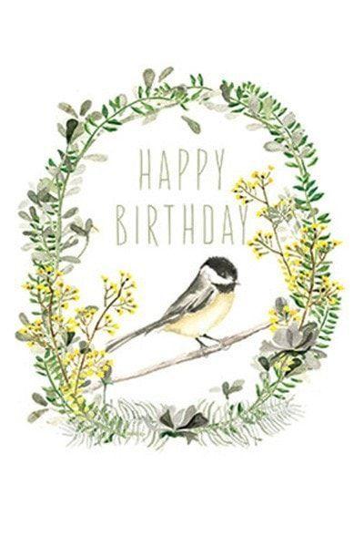 Papaya Art Happy Birthday Garden Card