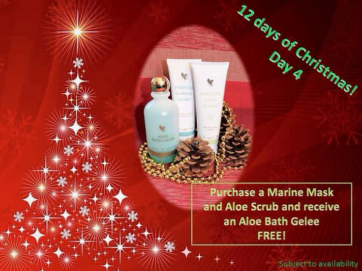 Day 4: Buy Marine Mask: contains natural sea minerals which deeply cleanse and replenish the skin whilst balancing texture.    and Aloe Scrub: This delicate scrub works to remove dead skin cells which clog up pores and cause skin to look dull.   and get Aloe Bath Gelee free: Beautifully-scented, refreshing bath and shower gel, rich in aloe vera. leaves the skin feeling irresistibly soft.