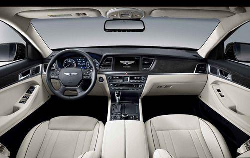 2015 Hyundai Genesis - Interior http://www.driveclassichyundai.com/