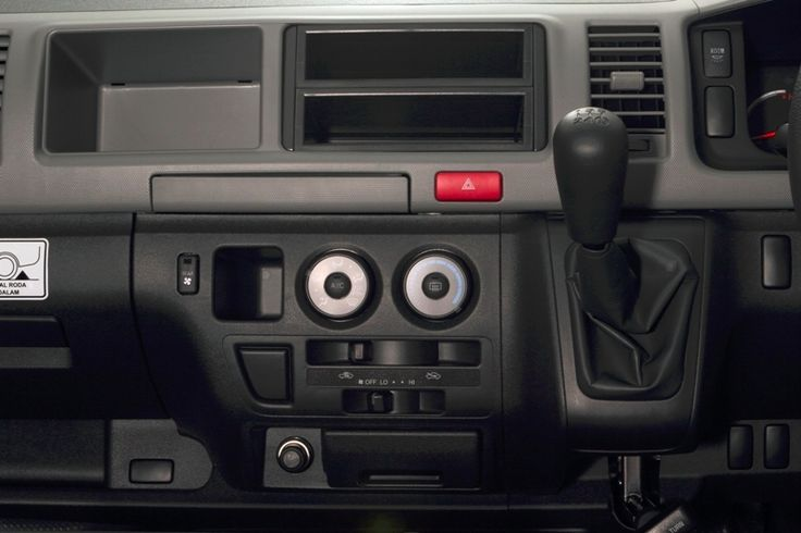 Toyota Auto2000 Hiace Interior Transmission Type Commuter