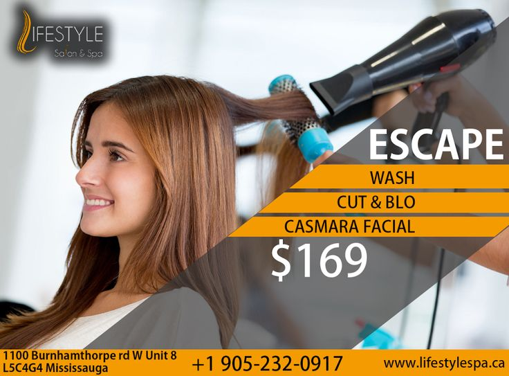 Hurry Its A 3 In One Offer!!! #Lifestyle #Salon #Spa #Lasercentre  For Appointment & More Queries :  Call: 905-232-0917 #Facial #Blowdry #Cut #Youneedyou #Skincare #Haircare #Hairproducts #Betterskin #Glow
