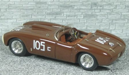 Ferrari 375 MM Spyder Pininfarina Winner Golden Gate Park 1954 #105 - Alfa Model 43
