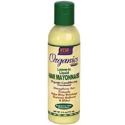 Africa's Best Organics Leave-In Liquid Hair Mayonnaise 6 Ounce