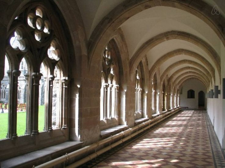 Peacefulness at the connecting cloisters